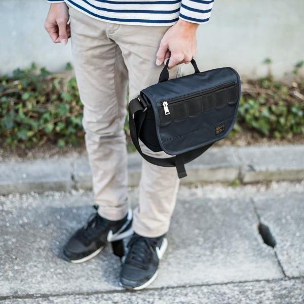 バッグ メンズ メッセンジャー バッグ カメラバッグ 一眼レフ アルファ 斜め掛け 鞄 かばん 肩掛け(即納)|sanwadirect|15