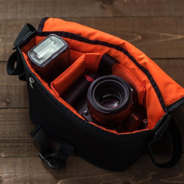 バッグ メンズ メッセンジャー バッグ カメラバッグ 一眼レフ アルファ 斜め掛け 鞄 かばん 肩掛け(即納)|sanwadirect|16