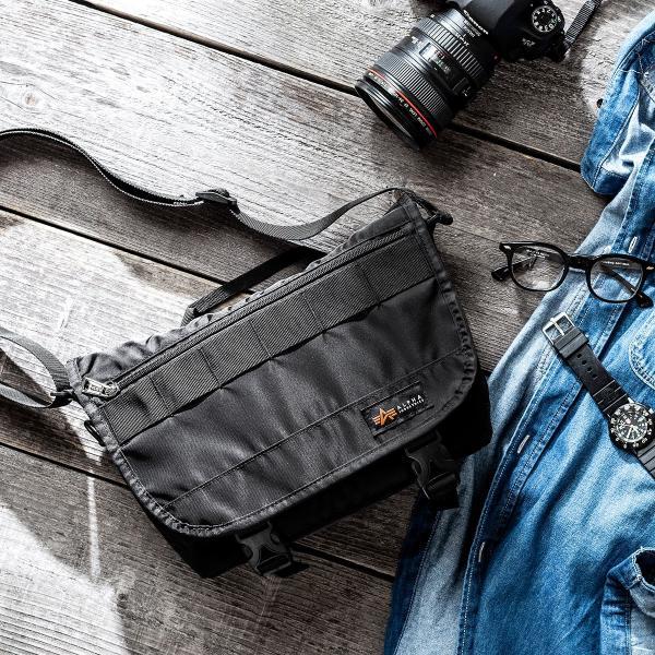 カメラバッグ 一眼レフ カメラ 大容量 ショルダー ミラーレス一眼 アルファ メッセンジャー 斜め掛け 鞄 かばん 肩掛け(即納)|sanwadirect|17