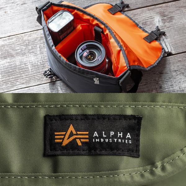 カメラバッグ 一眼レフ カメラ 大容量 ショルダー ミラーレス一眼 アルファ メッセンジャー 斜め掛け 鞄 かばん 肩掛け(即納)|sanwadirect|04