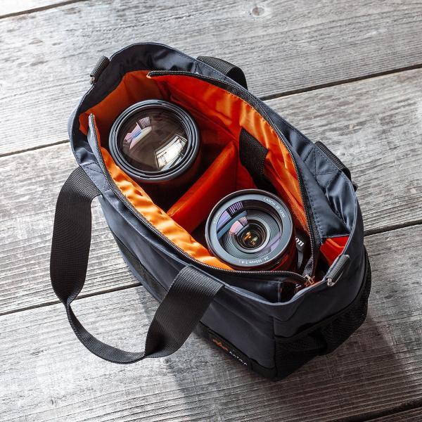 カメラバッグ 一眼レフ ショルダー カメラ 大容量 ミラーレス一眼 アルファ トート 斜め掛け 鞄 かばん 肩掛け(即納)|sanwadirect|18