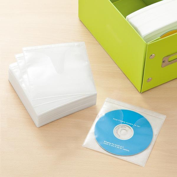 不織布ケース CDケース DVDケース 500枚(即納)|sanwadirect|09