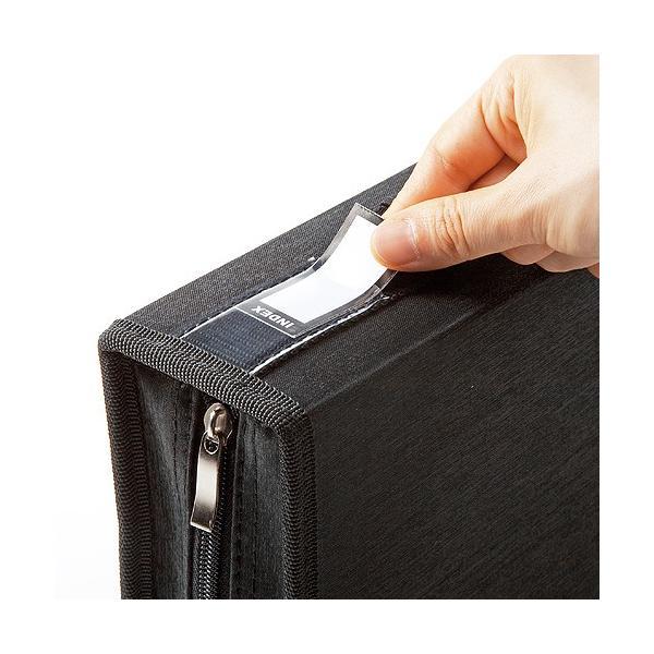 DVDケース CDケース 収納 キャリングケース 96枚 持ち運び 収納ケース(即納)|sanwadirect|11