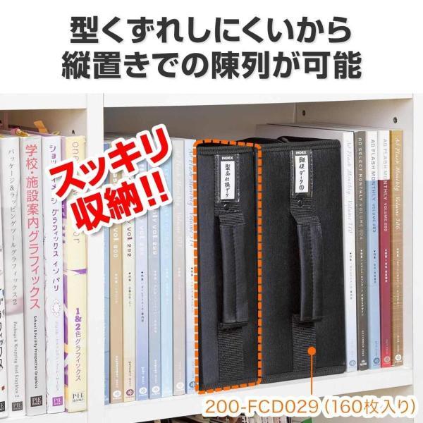 DVDケース CDケース 収納 キャリングケース 96枚 持ち運び 収納ケース(即納)|sanwadirect|03