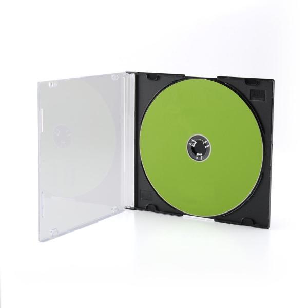 CDケース DVDケース スリム 100枚|sanwadirect|02