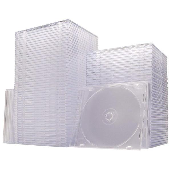 CDケース DVDケース スリム 100枚|sanwadirect|07