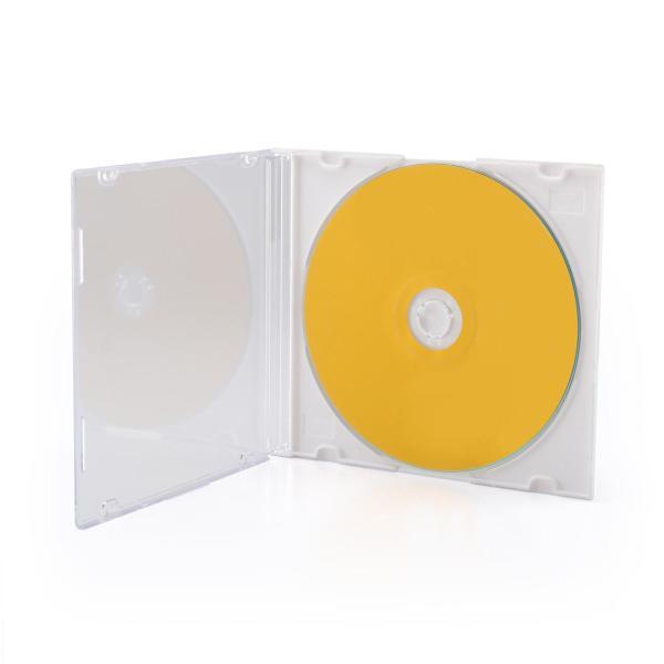 CDケース DVDケース スリム 100枚|sanwadirect|03