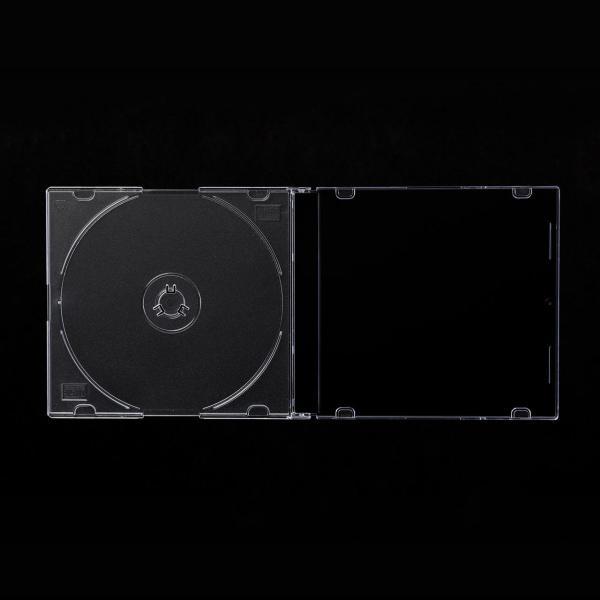 CDケース DVDケース スリム 200枚 sanwadirect 05