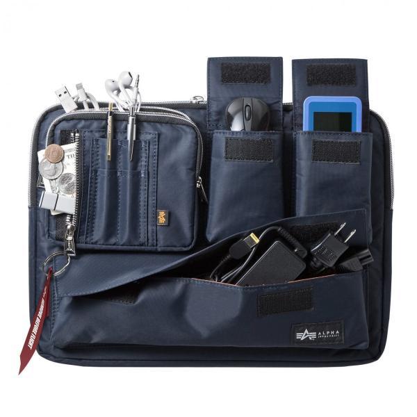 ノートパソコン ケース 13.3インチ ALPHA  A4 2WAYバッグ バック PCバッグ(即納)|sanwadirect|16