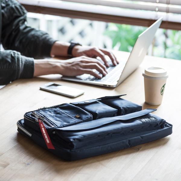 ノートパソコン ケース 13.3インチ ALPHA  A4 2WAYバッグ バック PCバッグ(即納)|sanwadirect|17