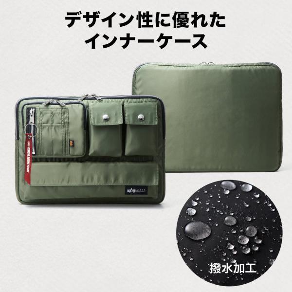 ノートパソコン ケース 13.3インチ ALPHA  A4 2WAYバッグ バック PCバッグ(即納)|sanwadirect|05