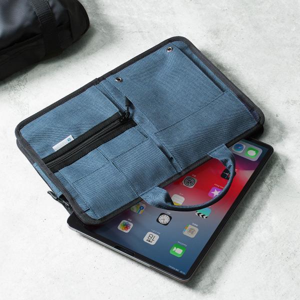 ノートパソコン ケース 11.6インチ インナーバッグ タブレット A4 2WAYバッグ バック PCバッグ(即納) sanwadirect 14