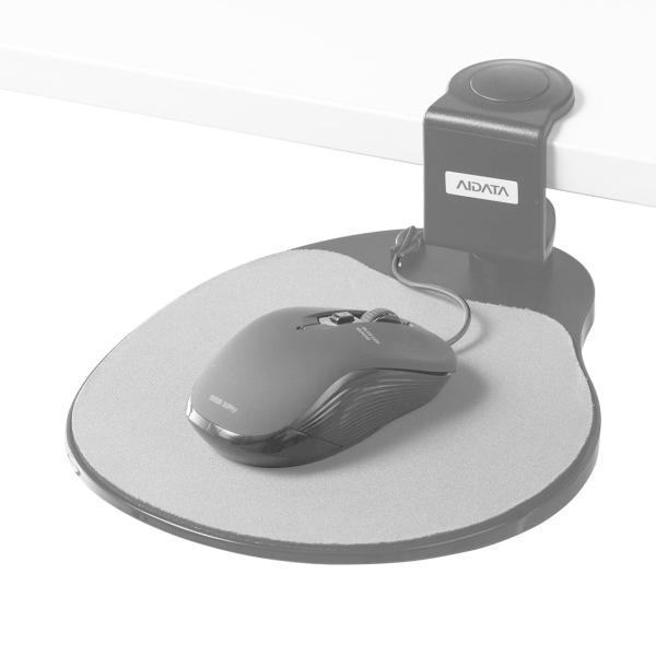 マウステーブル 机に取付けてスペースを有効利用 マウスパッド(即納) sanwadirect 07