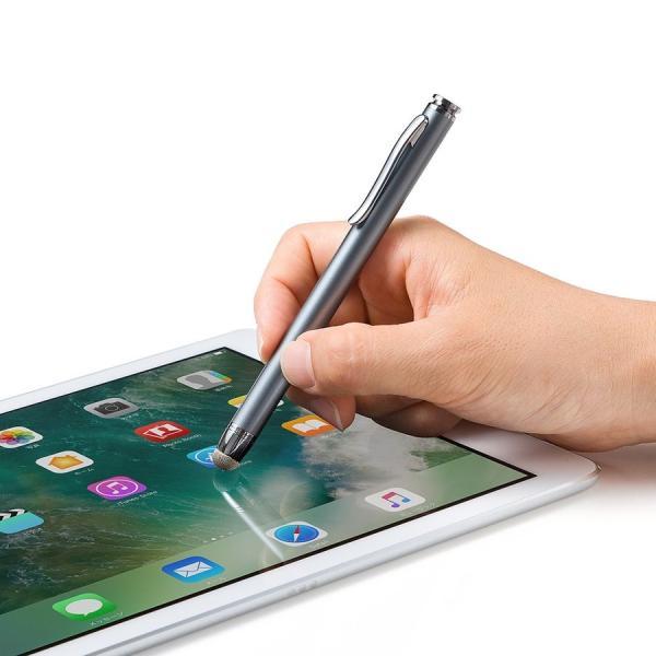 タッチペン スマートフォン/タブレット iPhone/iPad 導電繊維 スタイラスペン(即納)|sanwadirect|09