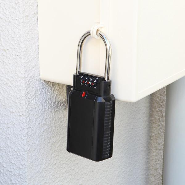 キーボックス 鍵 収納 BOX ダイヤル式 キーバンカー(即納)|sanwadirect|10
