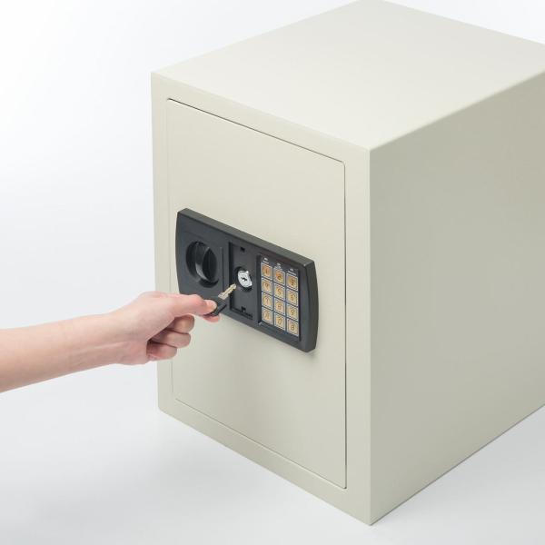 金庫 家庭用 小型 電子 防犯(即納)|sanwadirect|14