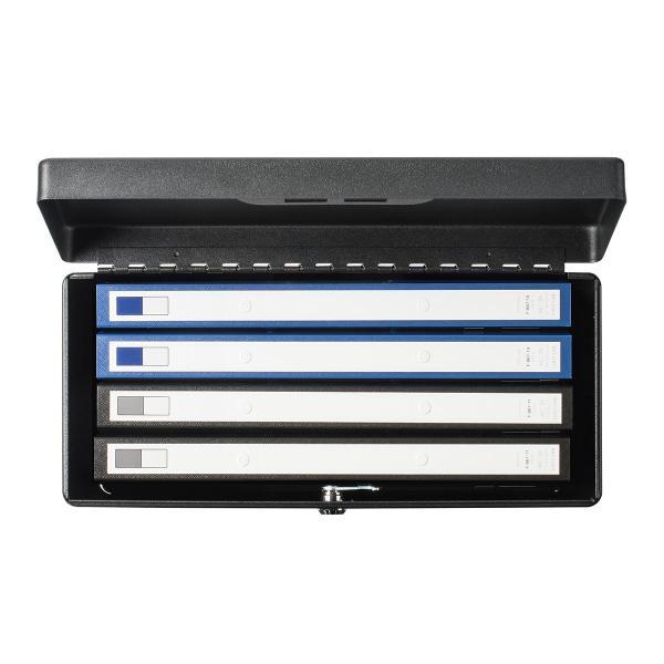 鍵付きファイルボックス 鍵付き ボックス マイナンバー対策に 書類 入れ A4ファイル 収納 セキュリティボックス(即納) sanwadirect 11