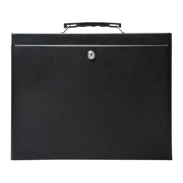 鍵付きファイルボックス 鍵付き ボックス マイナンバー対策に 書類 入れ A4ファイル 収納 セキュリティボックス(即納) sanwadirect 13