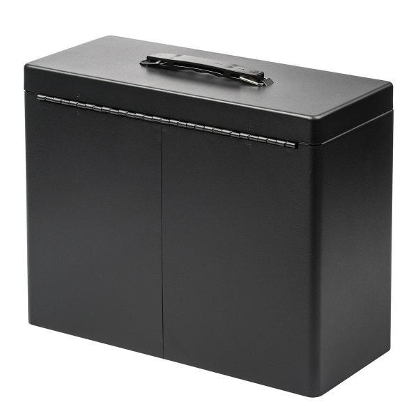 鍵付きファイルボックス 鍵付き ボックス マイナンバー対策に 書類 入れ A4ファイル 収納 セキュリティボックス(即納) sanwadirect 14