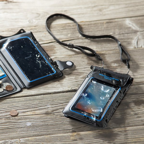 スマホ 防水ケース iPhone 小物ポケット(即納)|sanwadirect|06