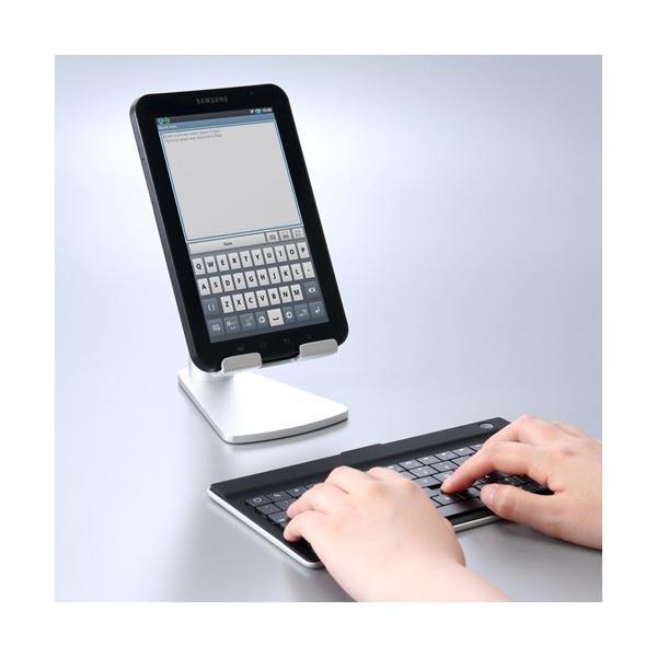 iPad タブレット アルミスタンド 卓上 iPad対応(即納)|sanwadirect|11