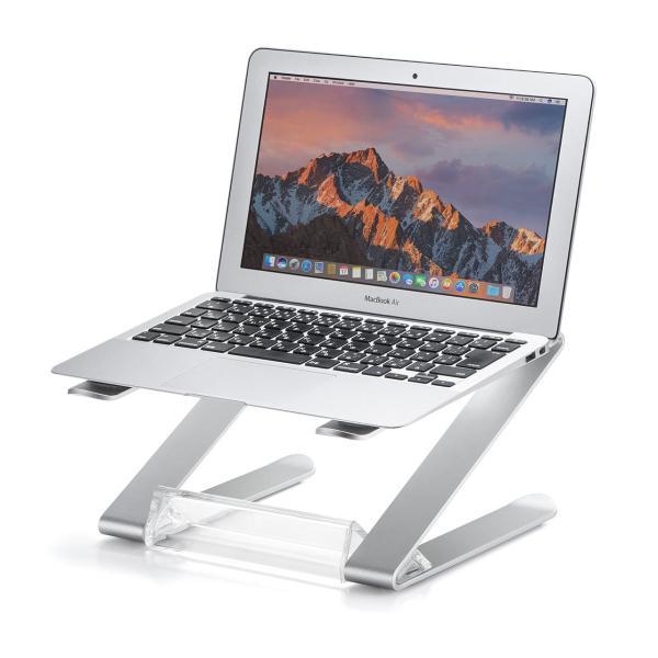 ノートパソコン スタンド アルミ ノートPC MacBook 放熱(即納)|sanwadirect|18