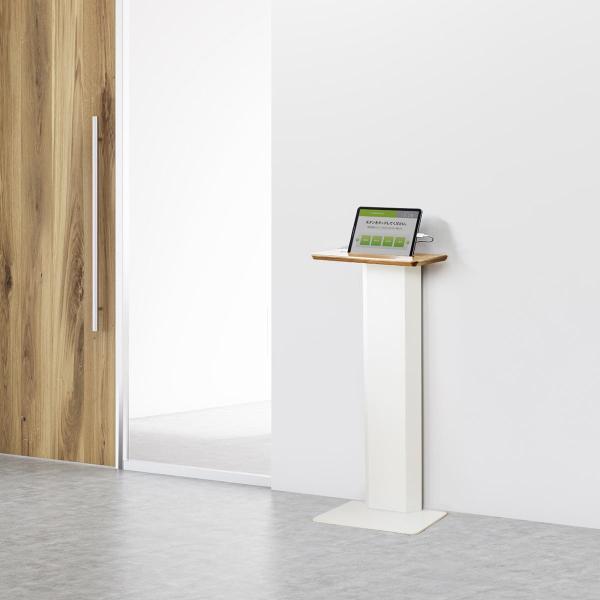 充電スタンド サイドテーブル 壁寄せ ベット ソファー サイド(即納)|sanwadirect|18