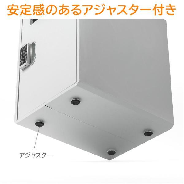 宅配ボックス 戸建て用 大容量 50リットル ネコポス便対応 カード式解錠 宅配ロッカー|sanwadirect|14