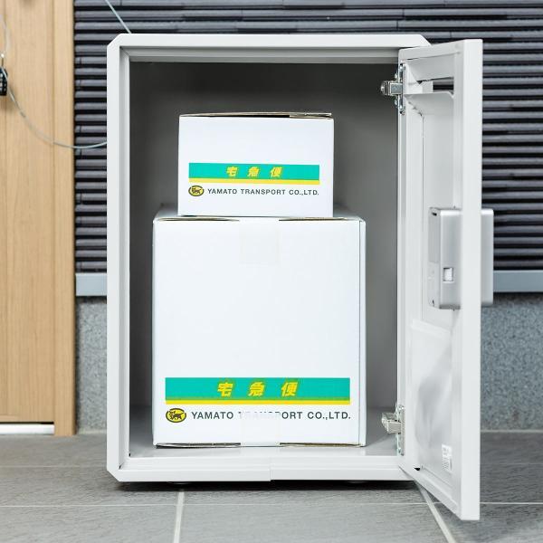 宅配ボックス 戸建て用 大容量 50リットル ネコポス便対応 カード式解錠 宅配ロッカー|sanwadirect|17