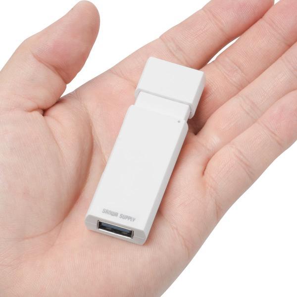 USB Type-C カードリーダー SD microSD USB3.1 ハブ Mac カードリーダー(即納)|sanwadirect|14
