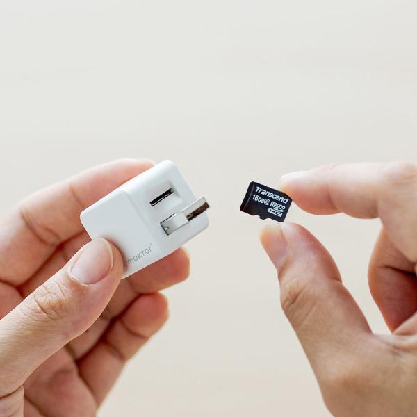 iPhoneカードリーダー iPhone バックアップ 自動 microSD 充電 カードリーダライタ qubii(即納)|sanwadirect|19