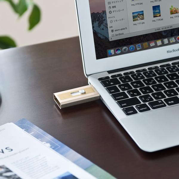 iPhone カードリーダー microSD Lightning マイクロSD(即納) sanwadirect 11