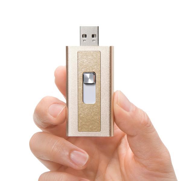 iPhone カードリーダー microSD Lightning マイクロSD(即納) sanwadirect 09