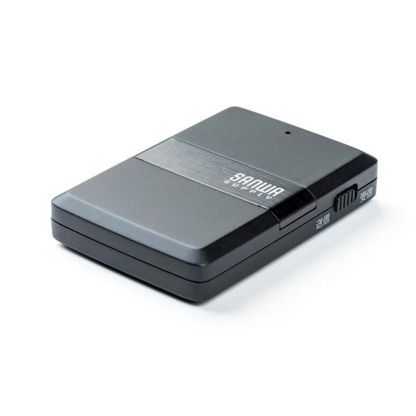 Bluetooth 送信機 受信機 トランスミッター レシーバー ブルートゥース 2台同時 テレビ(即納)|sanwadirect|20
