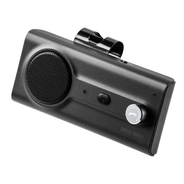 自動車用 ハンズフリー 通話 車載用品 車載ハンズフリー 長時間 通話 Bluetooth iPhone スマホ 自動車用 車中泊グッズ ブルートゥース(即納) sanwadirect 20