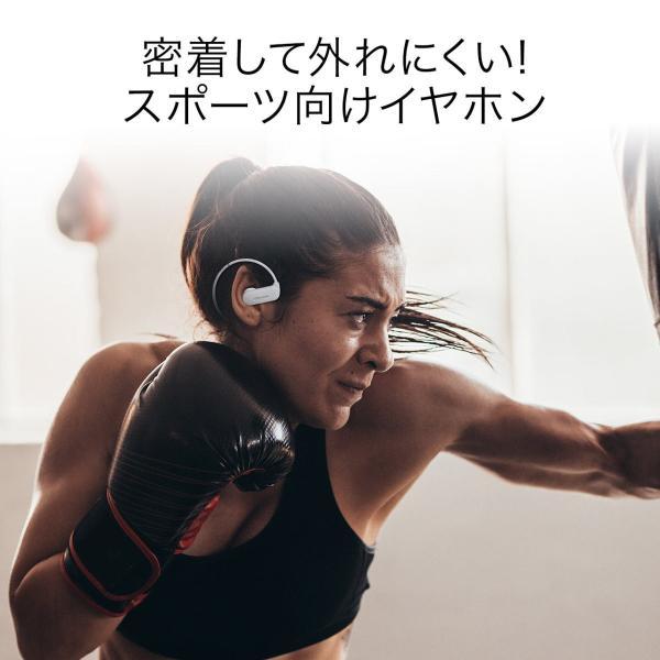 Bluetoothイヤホン ワイヤレス イヤホン Bluetooth5.0 IPX5 防水 コンパクト 軽量 スポーツ ブルートゥース(即納)|sanwadirect|02