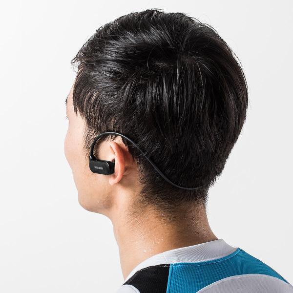Bluetoothイヤホン ワイヤレス イヤホン Bluetooth5.0 IPX5 防水 コンパクト 軽量 スポーツ ブルートゥース(即納)|sanwadirect|19