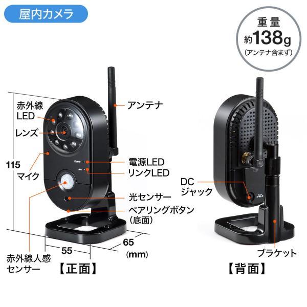 防犯カメラ 家庭用 ワイヤレス 屋外 監視カメラ ワイヤレス 屋内 防犯(即納)|sanwadirect|18