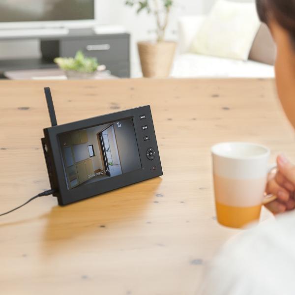 防犯カメラ 家庭用 ワイヤレス 屋外 監視カメラ 屋外 バレット 防水|sanwadirect|18
