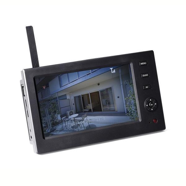 防犯カメラ 家庭用 ワイヤレス 屋外 監視 モニター sanwadirect 12