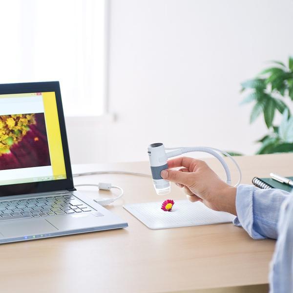デジタル顕微鏡 マイクロスコープ USB 200万画素 最大250倍 デジタルマイクロスコープ 動画撮影(即納)|sanwadirect|13
