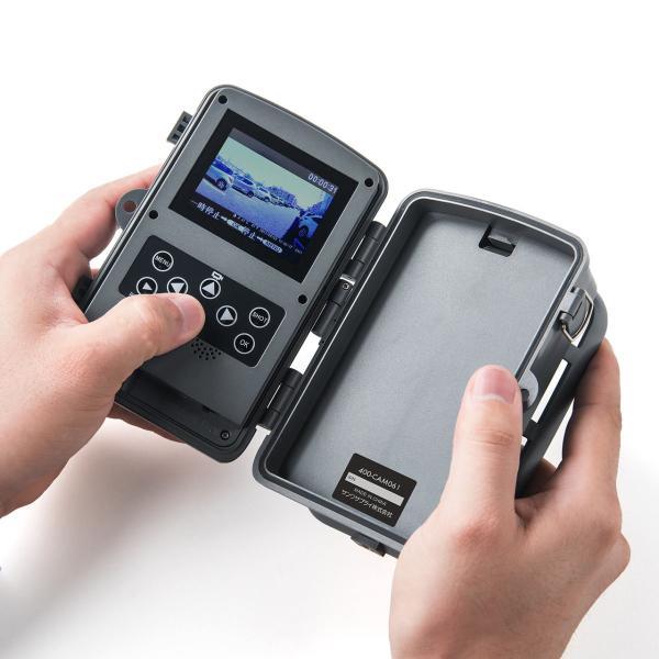 防犯カメラ 屋外 ワイヤレス 監視カメラ 家庭用 暗視 防水 電池式(即納)|sanwadirect|17