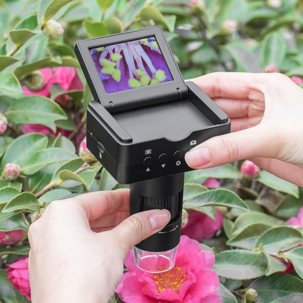 デジタル顕微鏡 マイクロスコープ 電子顕微鏡 最大220倍 光学ズーム デジタルズーム 液晶 モニター付き 持ち運び モバイル HDMI出力 小型 コンパクト(即納)|sanwadirect|19