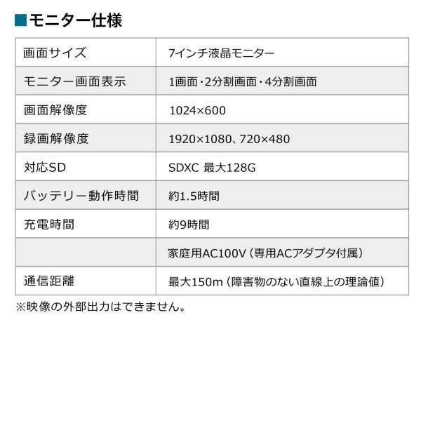 防犯カメラ 監視カメラ 屋外 ワイヤレス 暗視 スピーカー付き カメラ 2台(即納)|sanwadirect|18