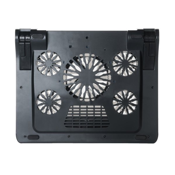 ノートパソコンクーラー 冷却台 静音 17インチ対応 5ファン USB給電 無段階風量調節 3段階角度調節|sanwadirect|15
