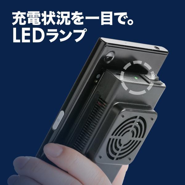 スマホクーラー 冷却 コンパクト 充電式 瞬間冷却 ペルチェ素子 スマホ クーラー 静音(即納)|sanwadirect|13