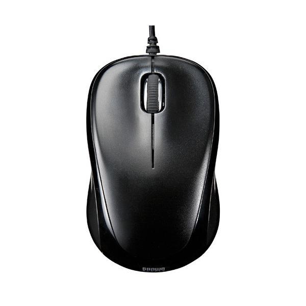 マウス 静音 有線 マウス ブルーLED PC USB 小型 有線マウス|sanwadirect|05