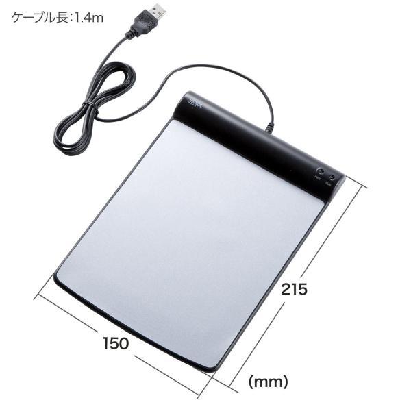 マウス 無線 ワイヤレスマウス バッテリーフリー 電池不要 5ボタン ブルーLED(即納)|sanwadirect|12