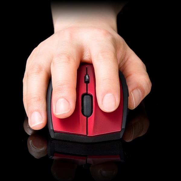 マウス ワイヤレス 無線 静音 5ボタン|sanwadirect|11