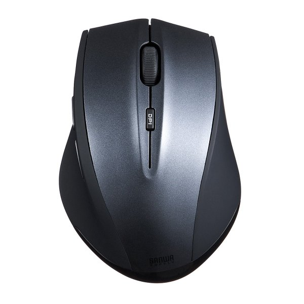 マウス ワイヤレス 無線 静音 5ボタン|sanwadirect|12